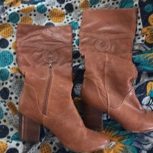 Poetic License Brown Boots